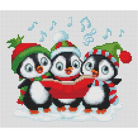 Carolling Penguins